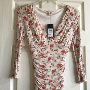 Guess Floral print dress XS